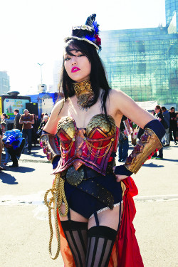 Cosplay Steampunk Wonder Woman