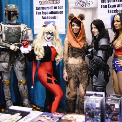 Cosplayers at Fan Expo Vancouver 2015