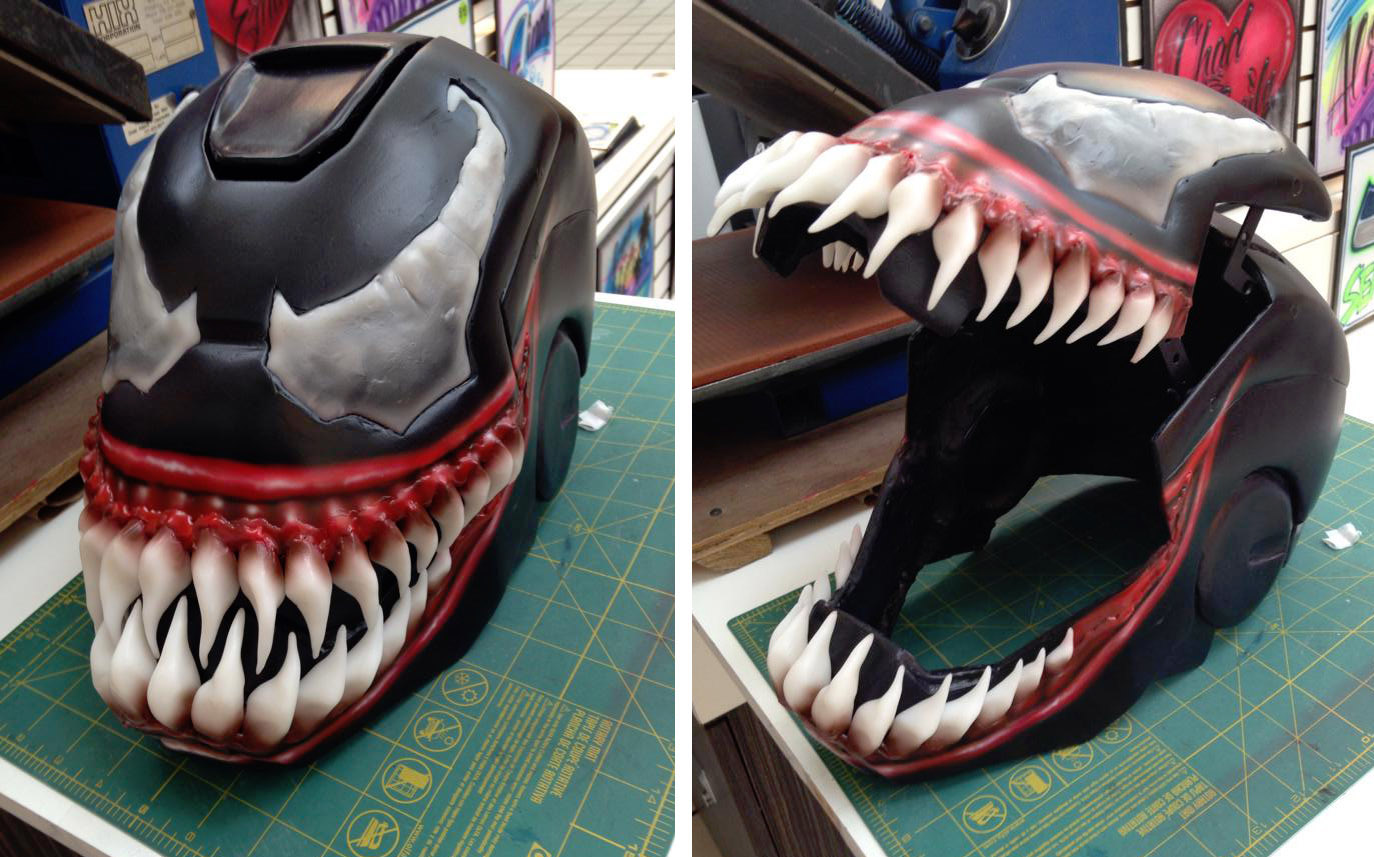 MONSTER MASH-UP: Iron Venom DIY – Cosplay-Culture