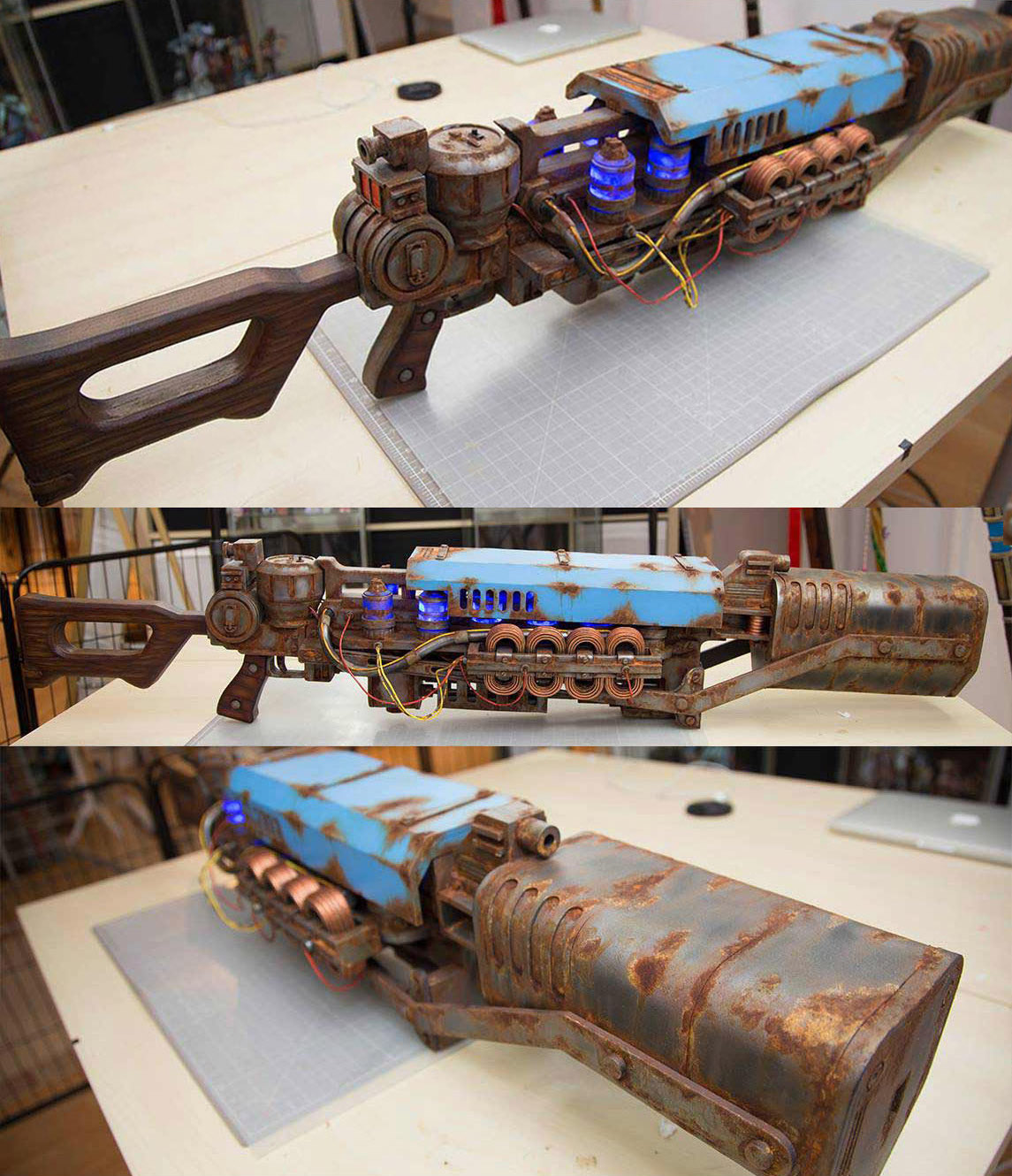 3-D Printed Cosplay Prop Fallout 4 Jet Chem